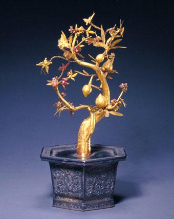 引用 镶金缀玉的古代盆景艺术 - 心灵绿荫 - 欢腾的小河