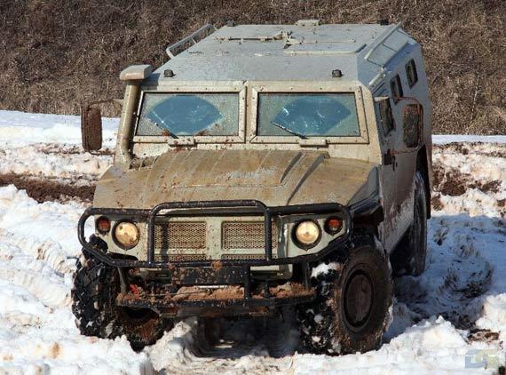 资料图:俄制虎式装甲汽车