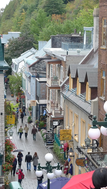 比法国还法国的北美小城——加拿大魁北克城1 - 奥若 - 奥若美食城