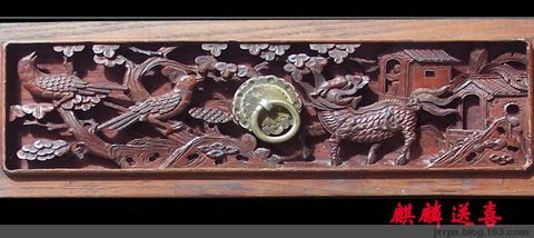 题材多样的小腰板—————再论徽州木雕之(三) - 徽州木雕珍藏 - 中国徽州木雕珍藏