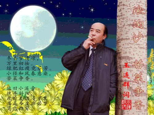 王连群/词【浪淘沙】苦菜争香 - 今生有你 - wlq19580 的博客