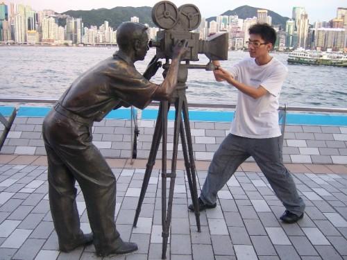 香港游记 四 尖沙咀,难忘的星光大道,难忘的维多利亚港