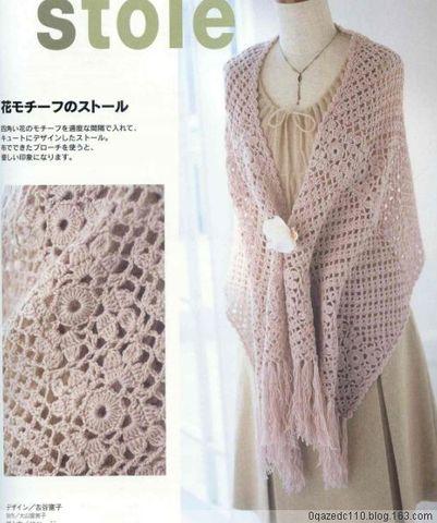 【引用】围巾2款 - 果果 - 平凡的东西,运用得恰当,就会美丽。