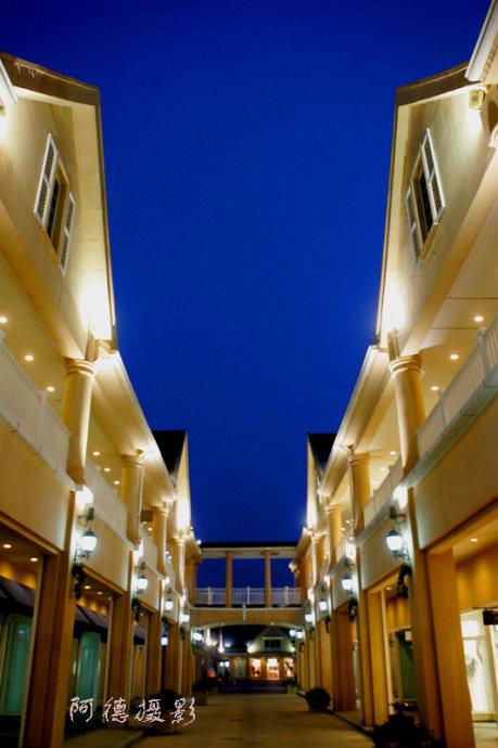 购物中心迷人夜色 - 阿德 - 图说北京(阿德摄影)BLOG