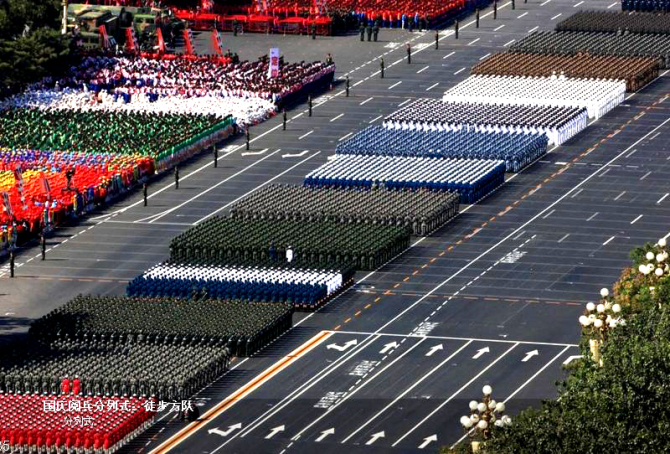 国庆大阅兵60幅罕见高清大图经典收藏  - 中国老兵 - 中国老兵