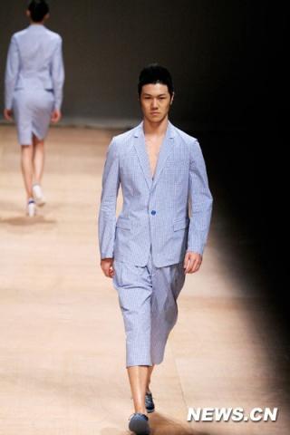 北京服装学院校草——男模李升  - 程凯o左岸男模坊 - 左岸麦田の魔男志