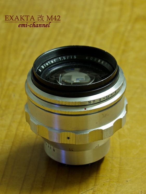 Carl Zeiss Jena  Biotar 75mm/1.5 改 M42 - emi007 - emi-channel