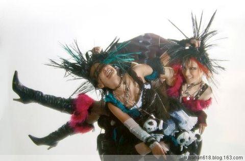 视觉系朋克品牌HANGRY ANGRY(组图) - あい赤蛛 - 京都S.M.祭