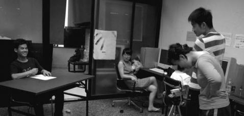 版画系第四工作室三年级数码造型课作业现场 - 好好阳光 - 辜居一的博客