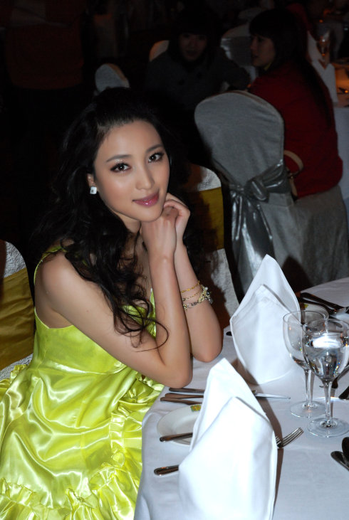 《lady》杂志十周年晚宴现场 - 甘婷婷 - 甘婷婷 的博客