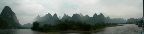 自拍的桂林漓江全景 - 邰建平 - 邰建平的博客