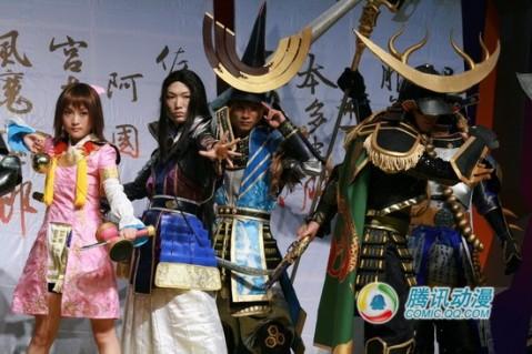 2007Chinajoy cosplay304社团战国无双2 - 血翼天使 - 天使聚集地
