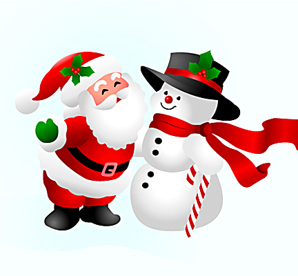 可爱的圣诞老人 - 冰峰设计策划 - 戎戈创意机构 VS 创意的力量