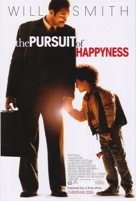 资料图片:影片《当幸福来敲门》海报