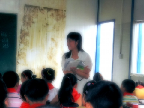在新市学校上公开课 - 张老师 - 播种善良,常怀感恩,亲近自然,快乐平和。