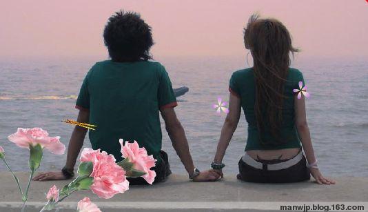 情侣图片 - 海娜 - 我的世界因为你更精彩