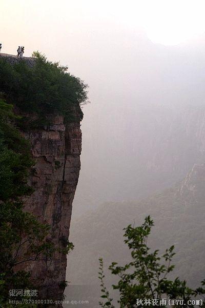 中国最神奇的绝壁上的村庄——郭亮村 - 心静茶香 - 心静茶香