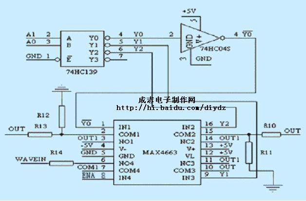 采用集成电路max038的函数信号发生器的设计