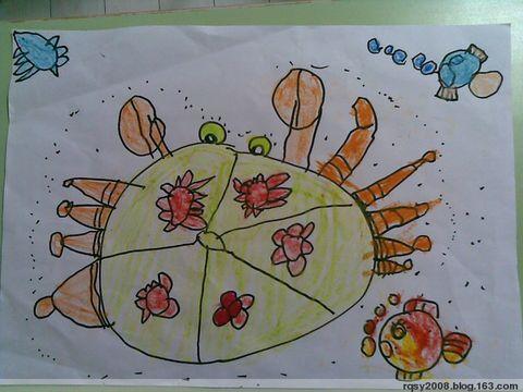 大螃蟹(中班) - rqsy2008 - 融侨元洪锦江幼儿园的博客