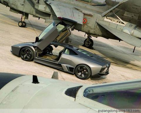 和飞机赛跑的汽车-兰博基尼限量超跑Reventón - 江东 - 奋斗