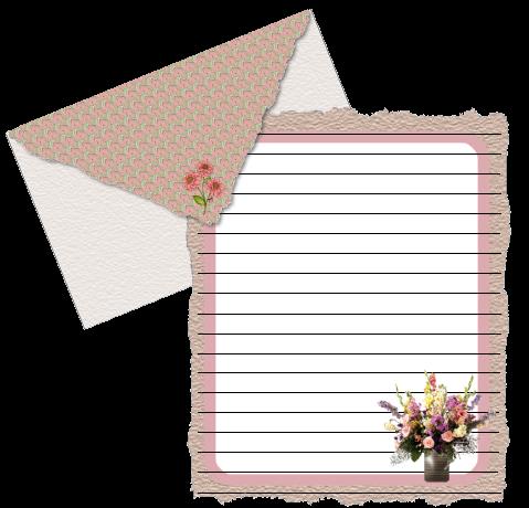 信纸 玫瑰夫人/PNG格式的信纸 / 玫瑰夫人/