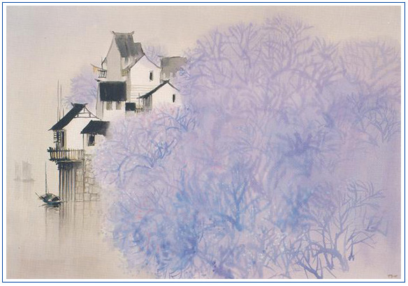 何镇强作品欣赏——烟雨江南 - lijinguo1963 - lijinguo1963的博客