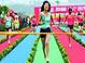 实拍重庆美女8厘米高跟鞋短跑比赛