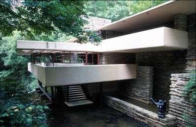 【转载】世上最美建筑----宾州落水山庄(Fallingwater) - 韩韩 - 成都市建筑装饰协会官方博客