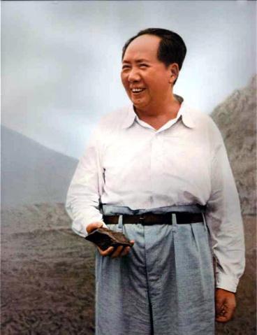 【图片】咱们的领袖毛主席 - 南山客 - 南山客 博客