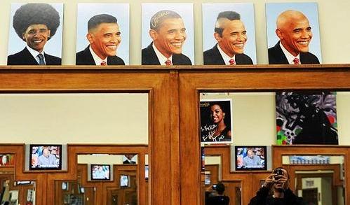 美国街头潮人多 奥巴马变身发型广告模特(组图) - 李光斗 - 李光斗的博客