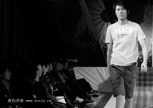 CCTV模特大赛男模五佳彭海政亮相YZC新品发布会 - 110414 - 左岸麦田の魔男志