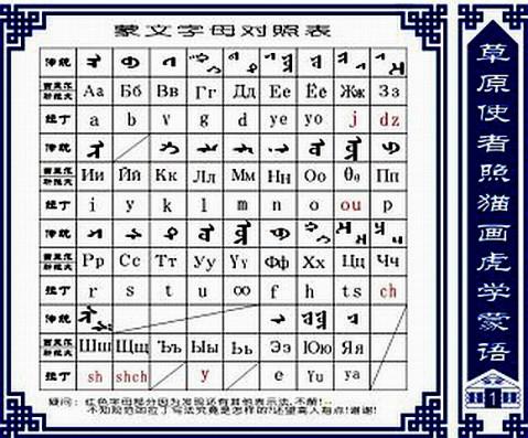 一起学习新蒙古语 - 白马 - 白马