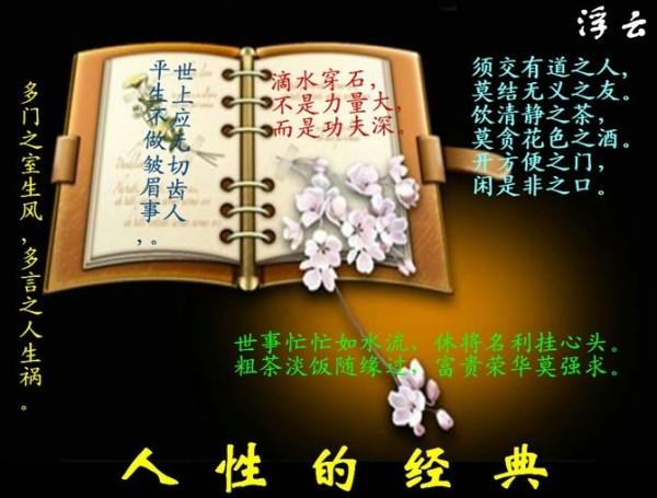人生经典为人哲学 - 好运来房產袁维涛 - 建湖县好运来房产13092110009