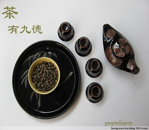 茶品__人品 - 幽荷清漪 - 碧天映水荷影收 出水清波依人秋