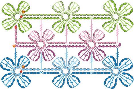 四叶草围巾 - 夕阳无限好 - 夕阳无限好