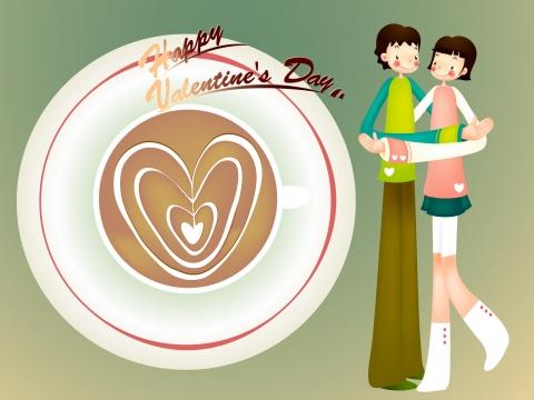 Happy Valentines Day - 青山妩媚 - 青山妩媚