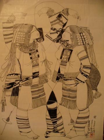 我的黑白线条装饰画 - 阿卡然说三 - 阿卡然说三
