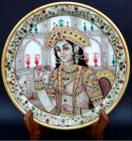 [极品收藏]难得一见的印度工艺画欣赏 - 心之静 - 心之静心情家园