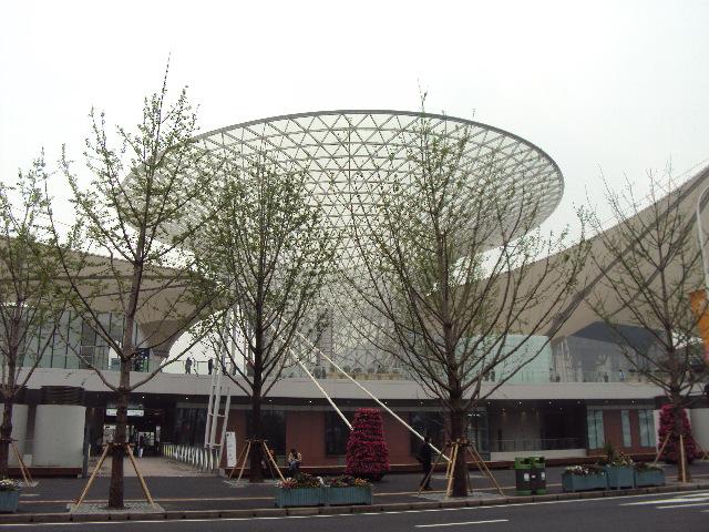 上海世博园的美丽场馆 - 马跃成 - 马跃成的博客