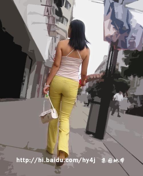 【转载】黄裤翘臀吊带MM - zhaogongming886 - 东方润泽的博客