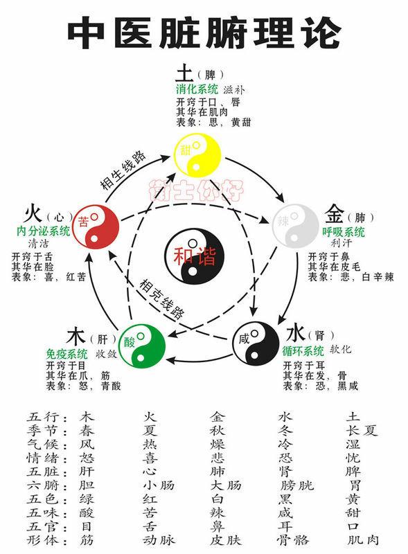 五行系统简表 - 逍遥客 - 逍遥客