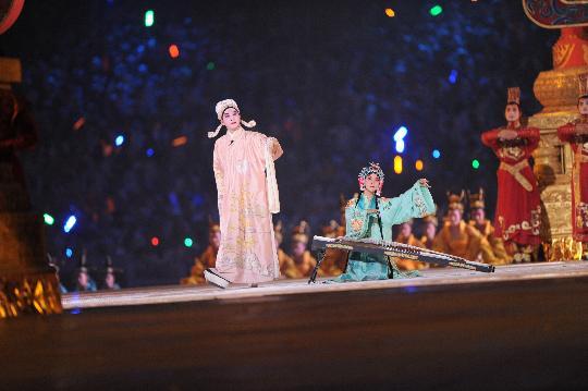 中国 开幕式/礼乐部分真的没有使我失望。