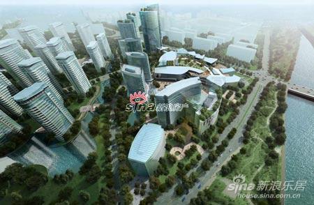远洋杭州大运河商务区效果图