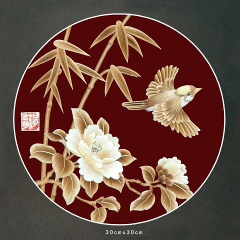 麦草画系列之二 - 蒲公英 - pugongying999 的博客