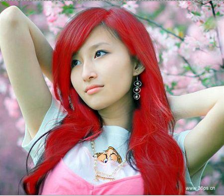 为MM的头发染色 - 黄大郎 - 学习园地!