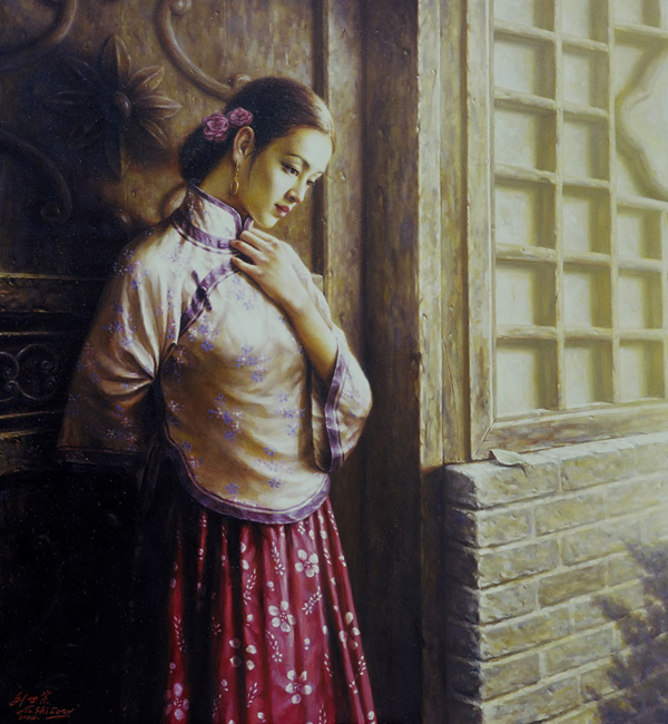 刘世宗油画作品欣赏 - 香儿 - xianger