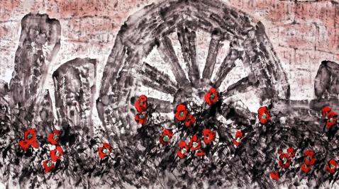 画家道白(9) - 苏文 - 中国当代美术家——路中汉