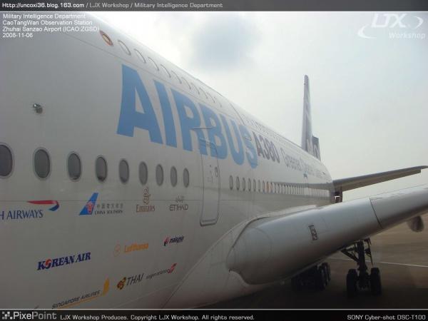 """""""澄海任务""""报告 Part.2: 参观Airbus A380一号原型机 - 看更阿伯熙叔 - LJX Workshop"""