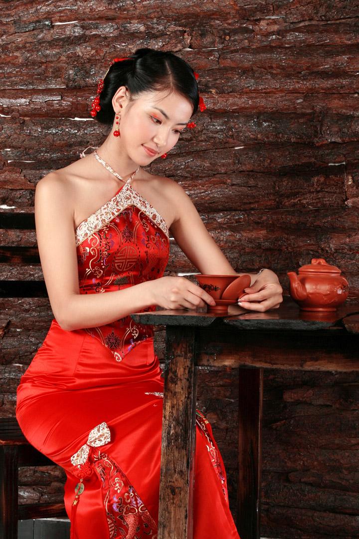 旗袍之美 - 易拉罐 - 杜佳兵 的博客..易拉罐
