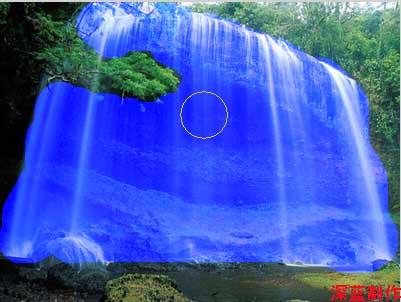 如何让平静的水面动起来 - 冬季恋歌 - 红枫叶